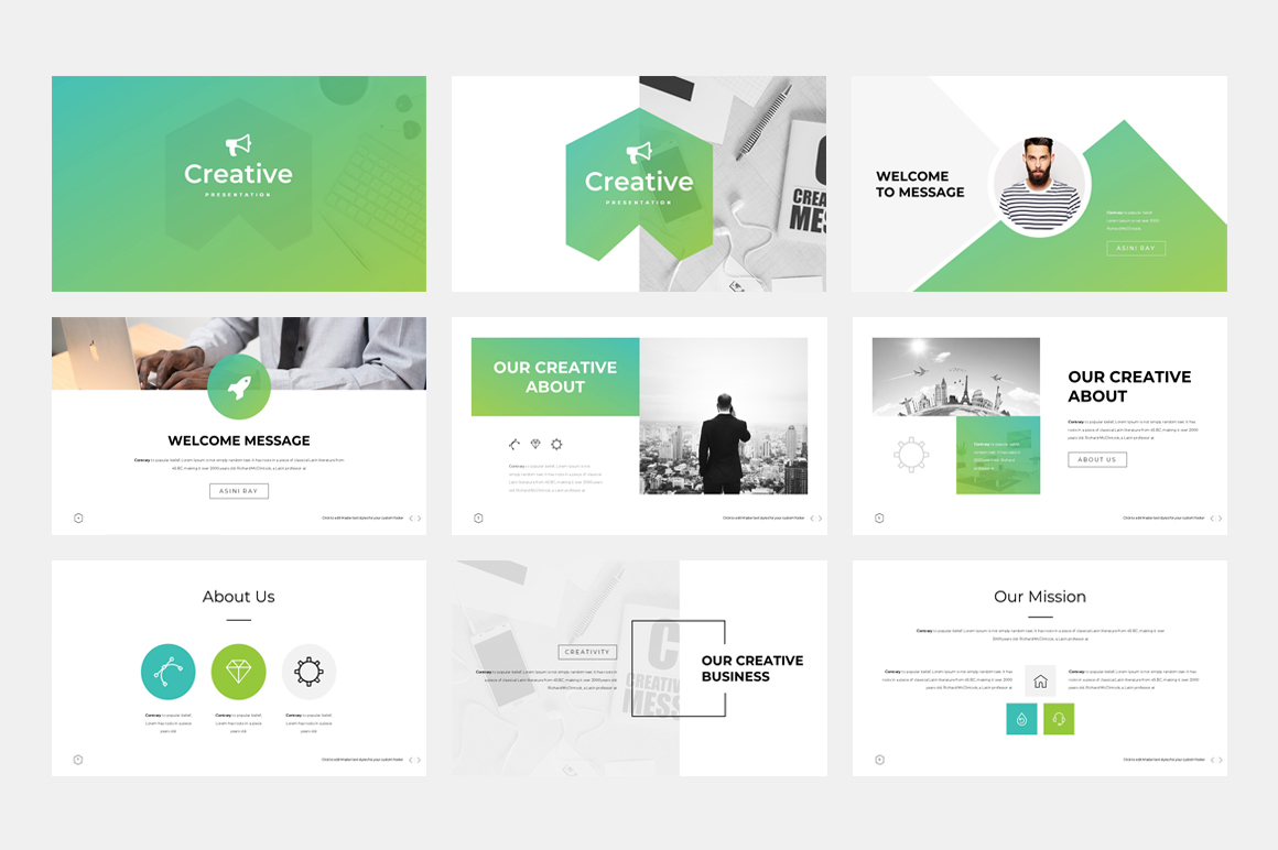Creative - PowerPoint Template