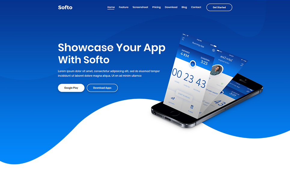 Softo WordPress Theme