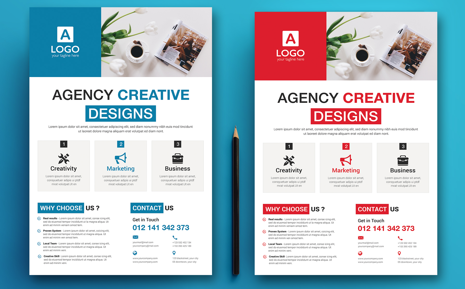 Agency Creative - Corporate Flyer Corporate Identity