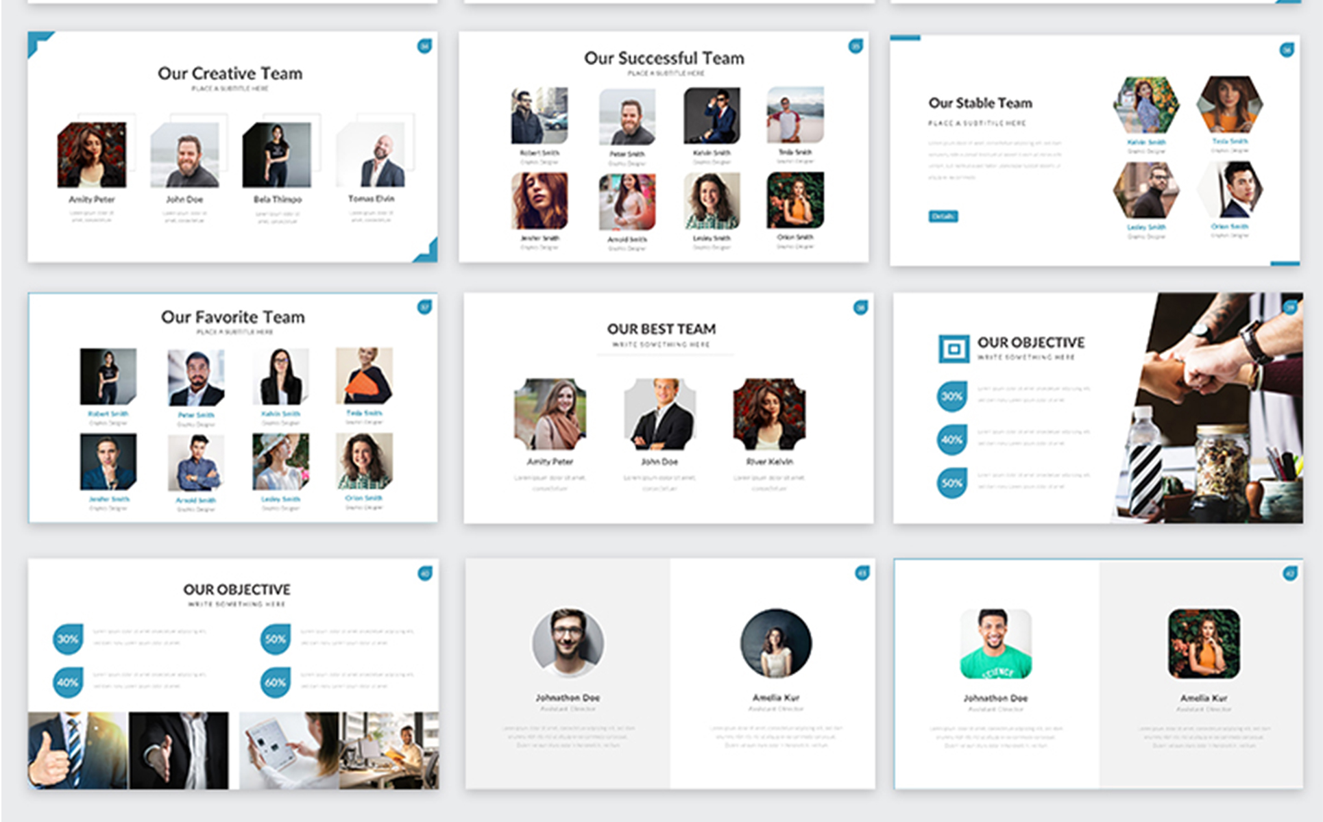 Welcome - Business PowerPoint Template
