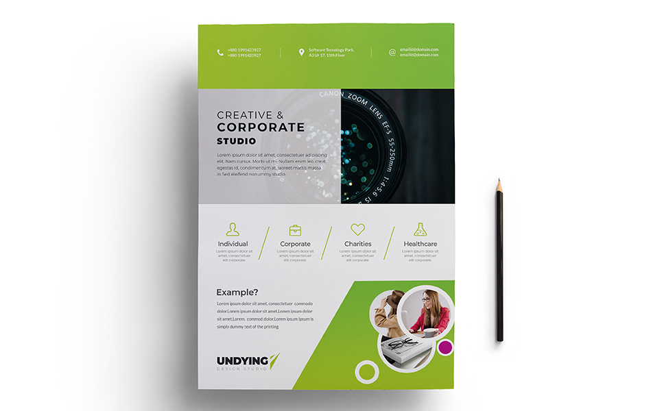 Conference Business PSD Corporate Identity