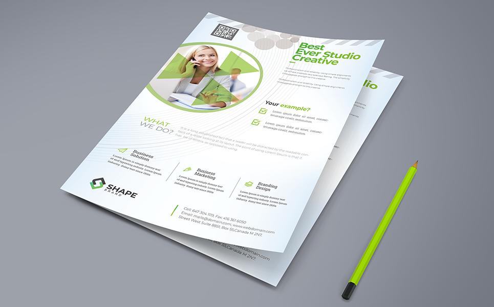 Best Ever Studio Creative Flyer PSD Corporate Identity