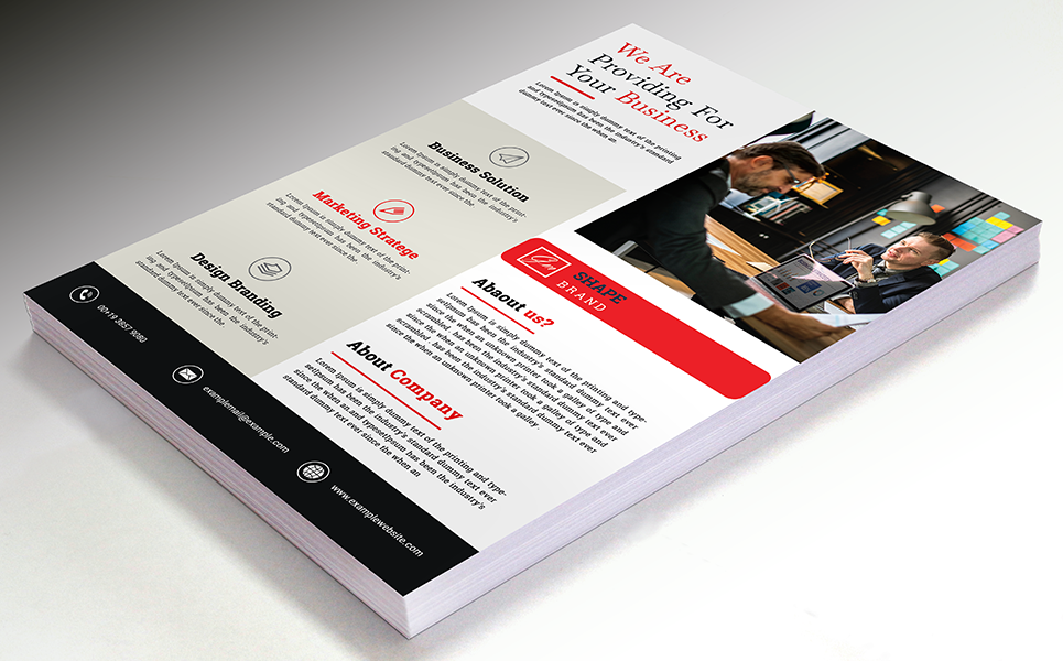 Providing For Your Business Flyer Corporate Identity