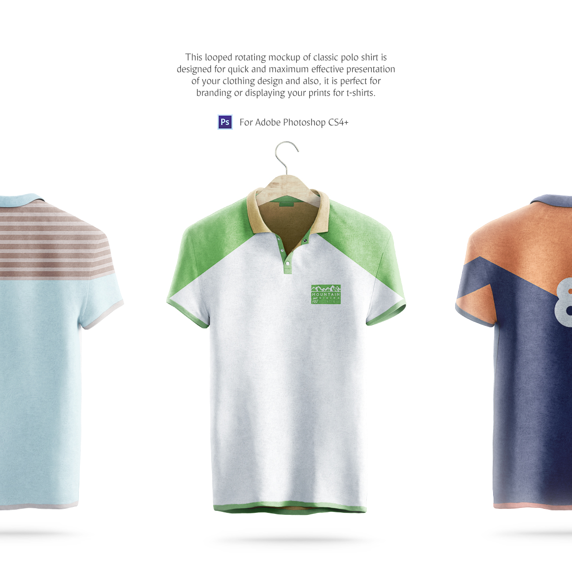 Polo Shirt - Animated Product Mockups