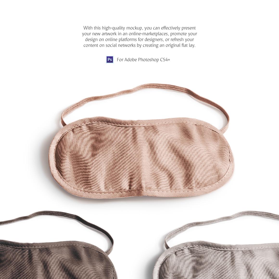 Sleeping Mask Product Mockups