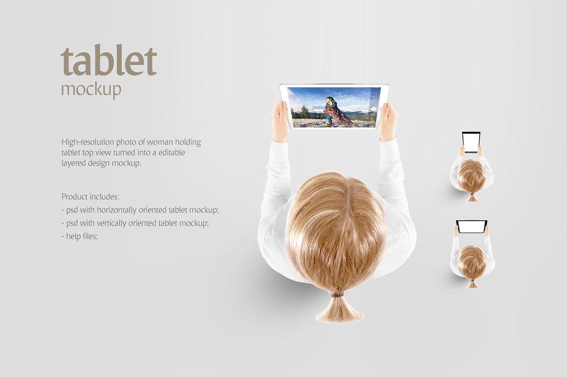 Tablet - Product Mockups