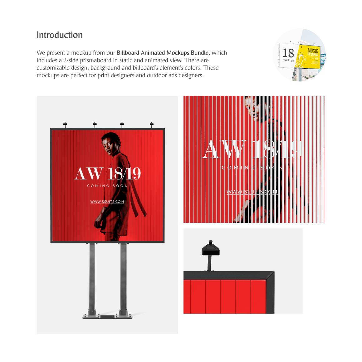 Billboard Animated Product Mockups