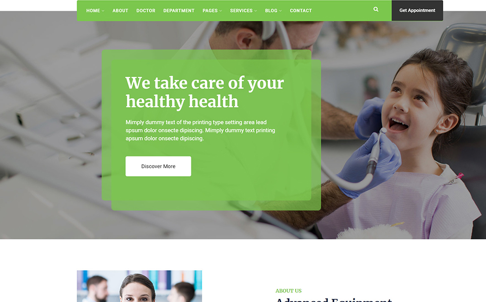 Militant-Medical & Health WordPress Theme