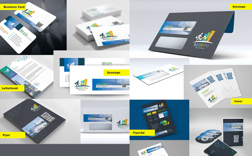 Creative Stationery Branding Pack Corporate Identity