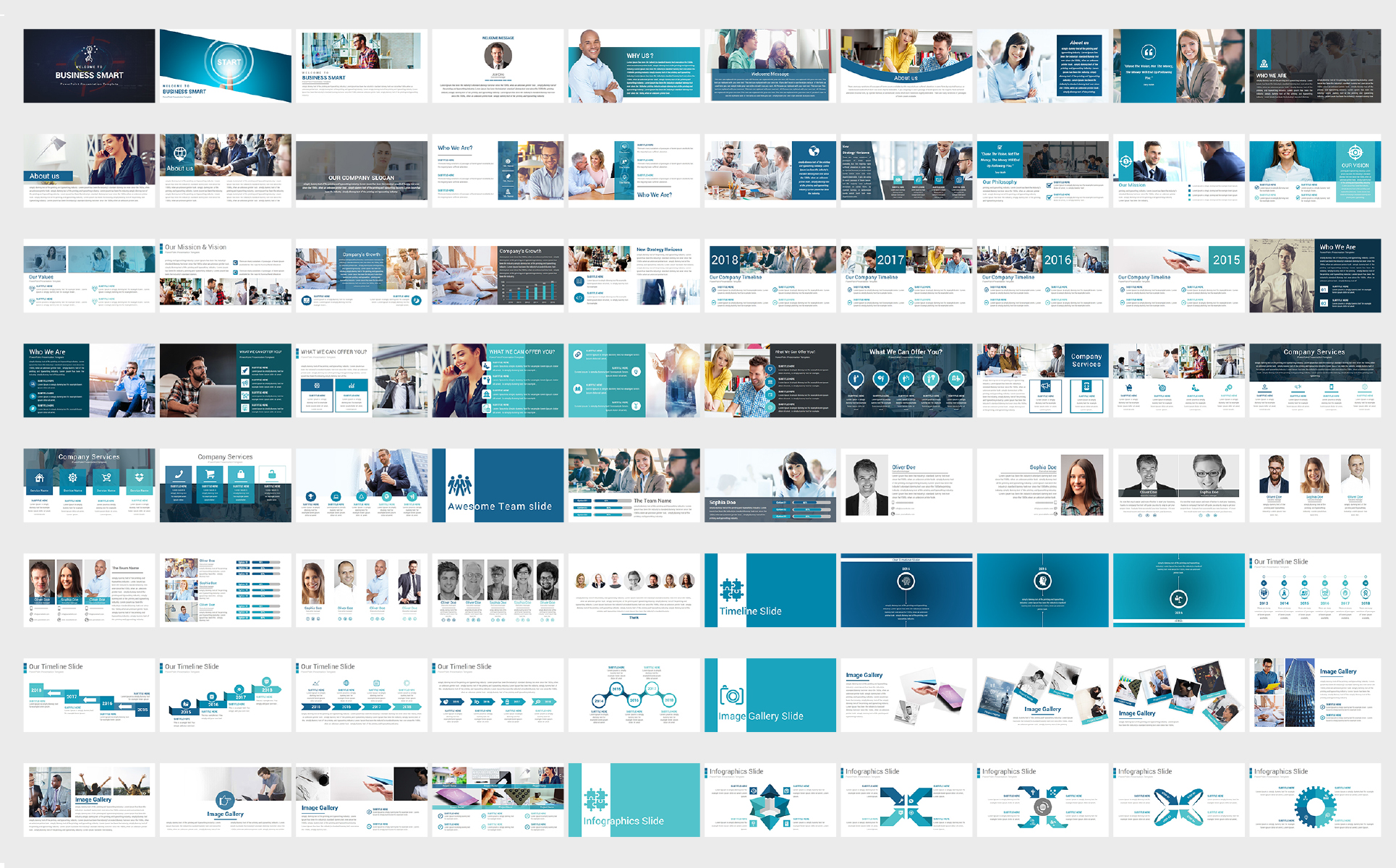 Creative Smart Business PowerPoint Template