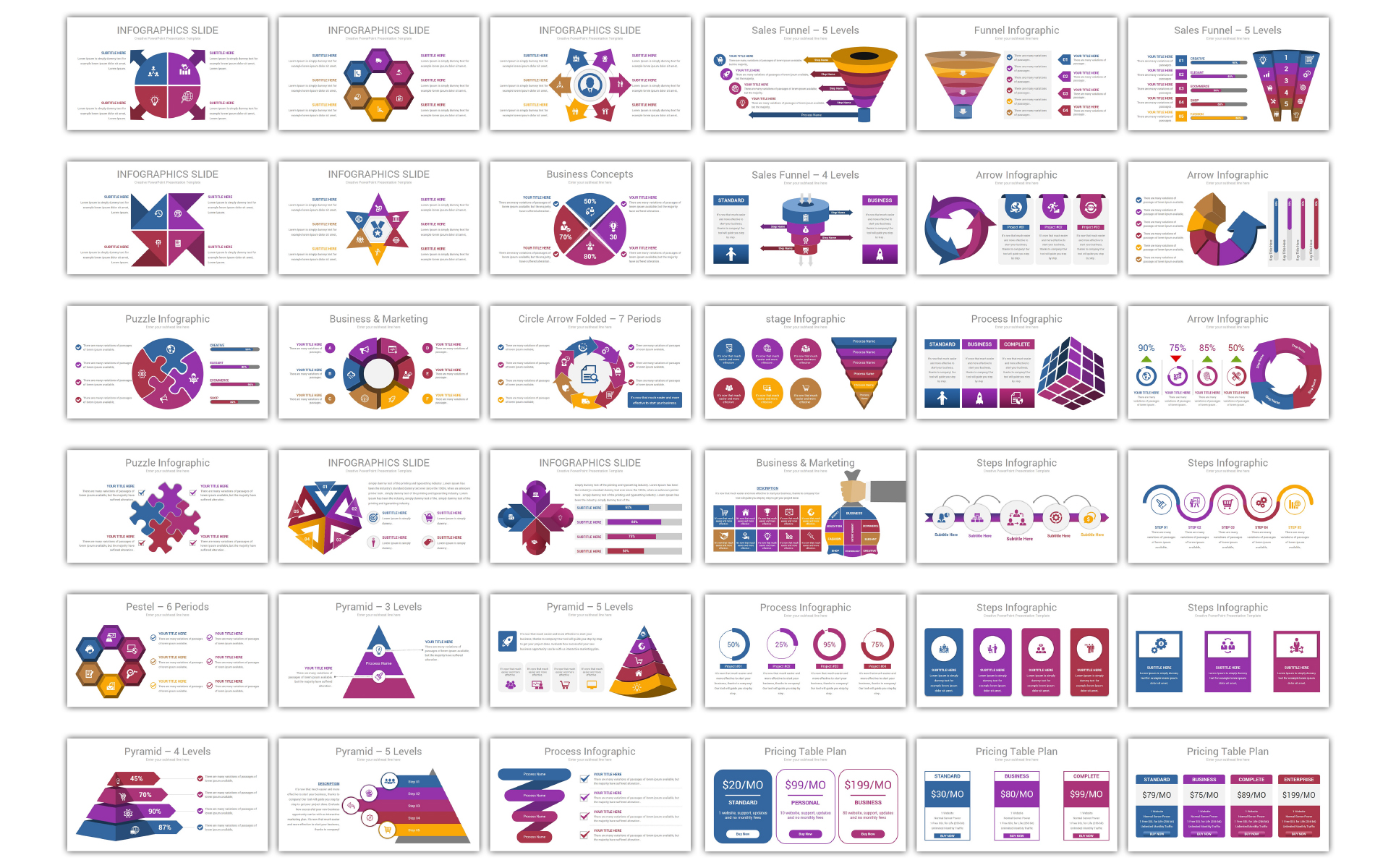 Infographics - V2 PowerPoint Template