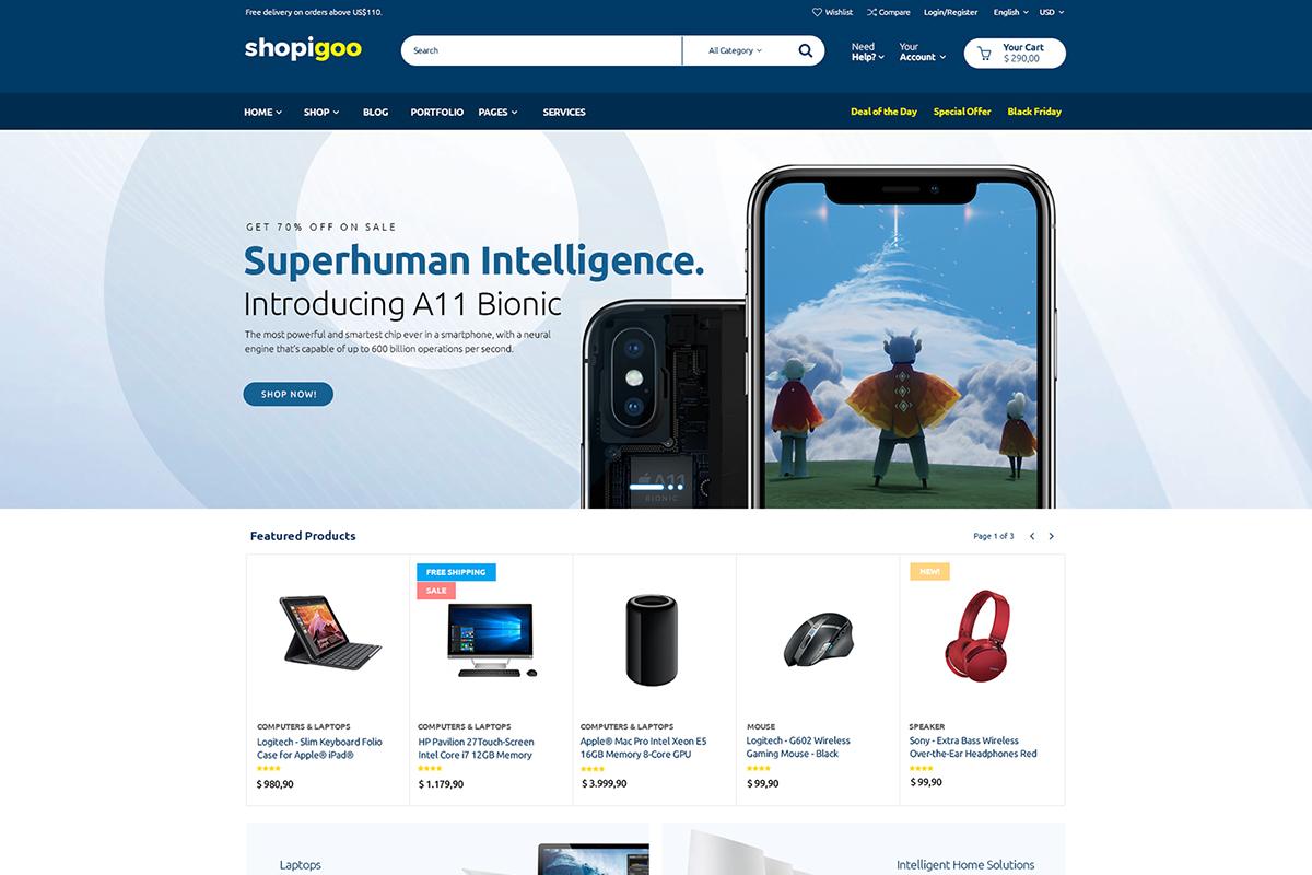 Shopigoo WooCommerce Theme
