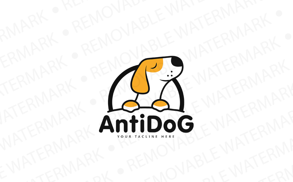 Antidog Logo Template