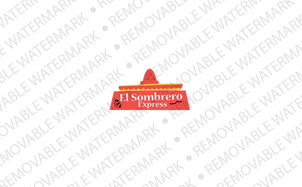 El Sombrero Logo Template