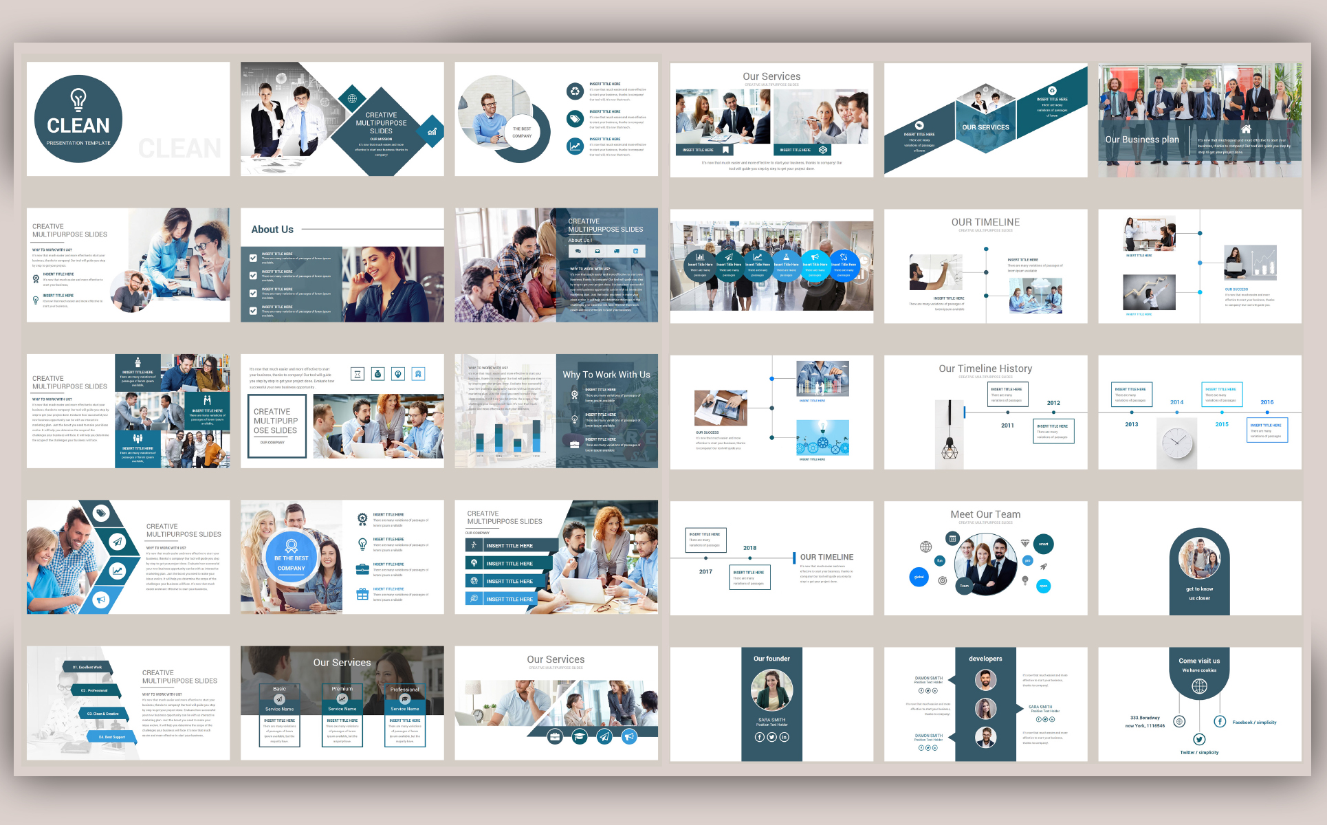 Beta - Creative PowerPoint Template
