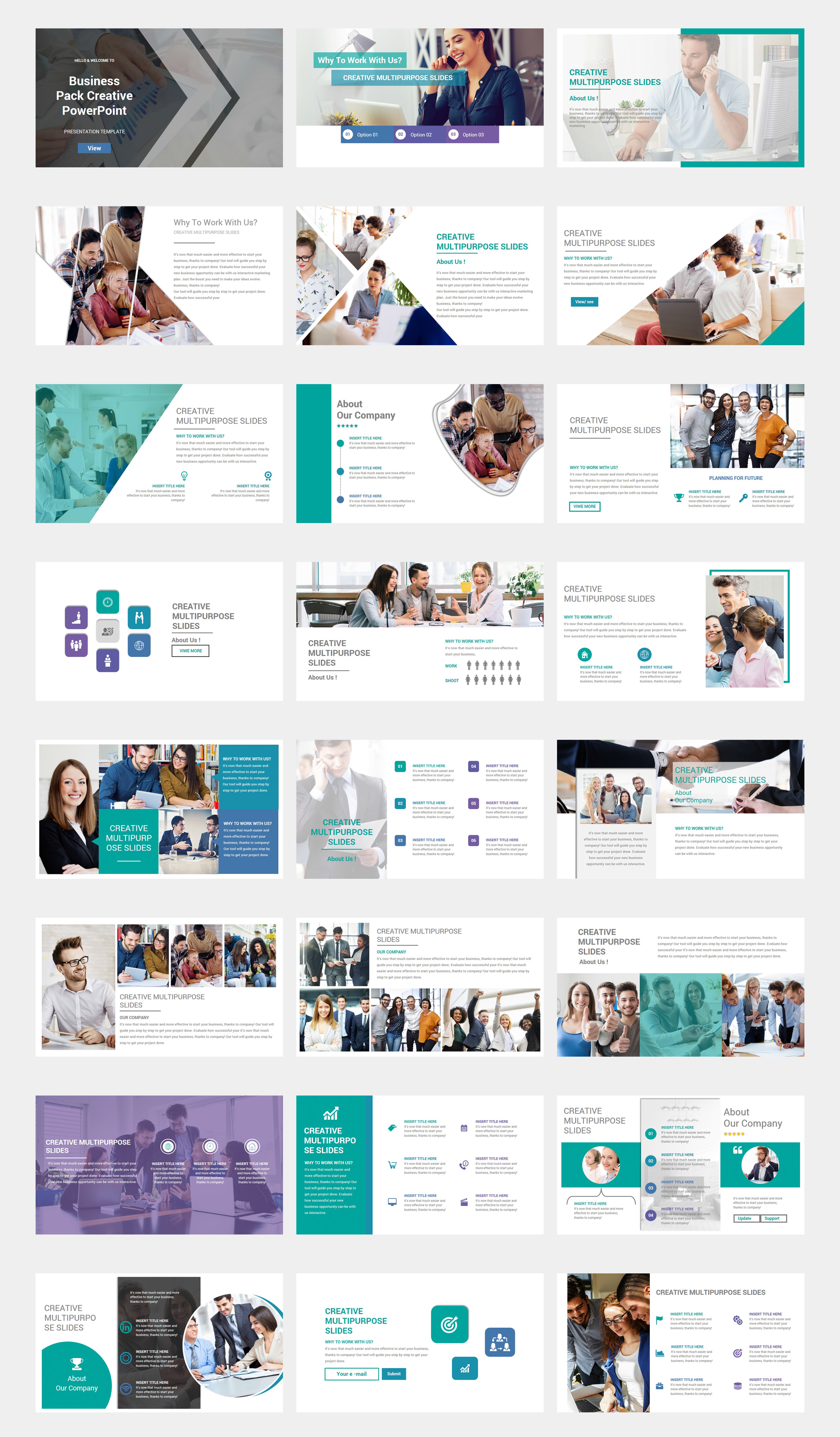 Business Plan  2 in 1 PowerPoint Template