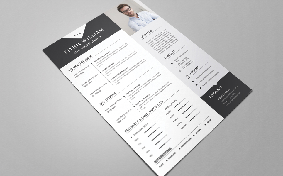 Tithil Willams Resume Template