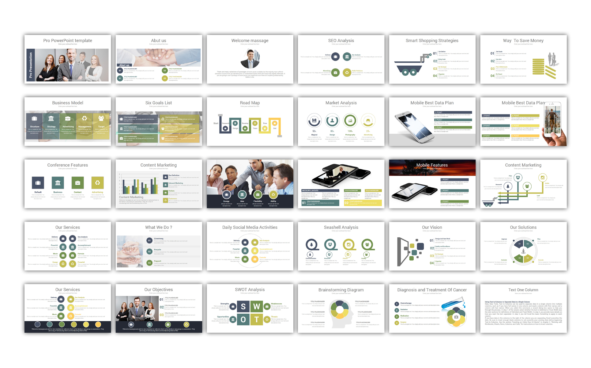 Pro - PowerPoint Template