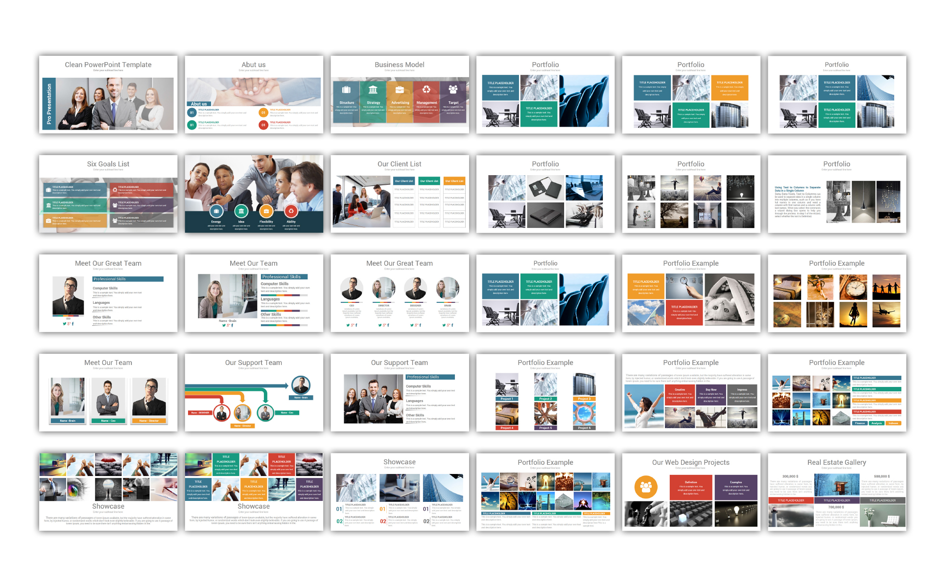 Clean - PowerPoint Template