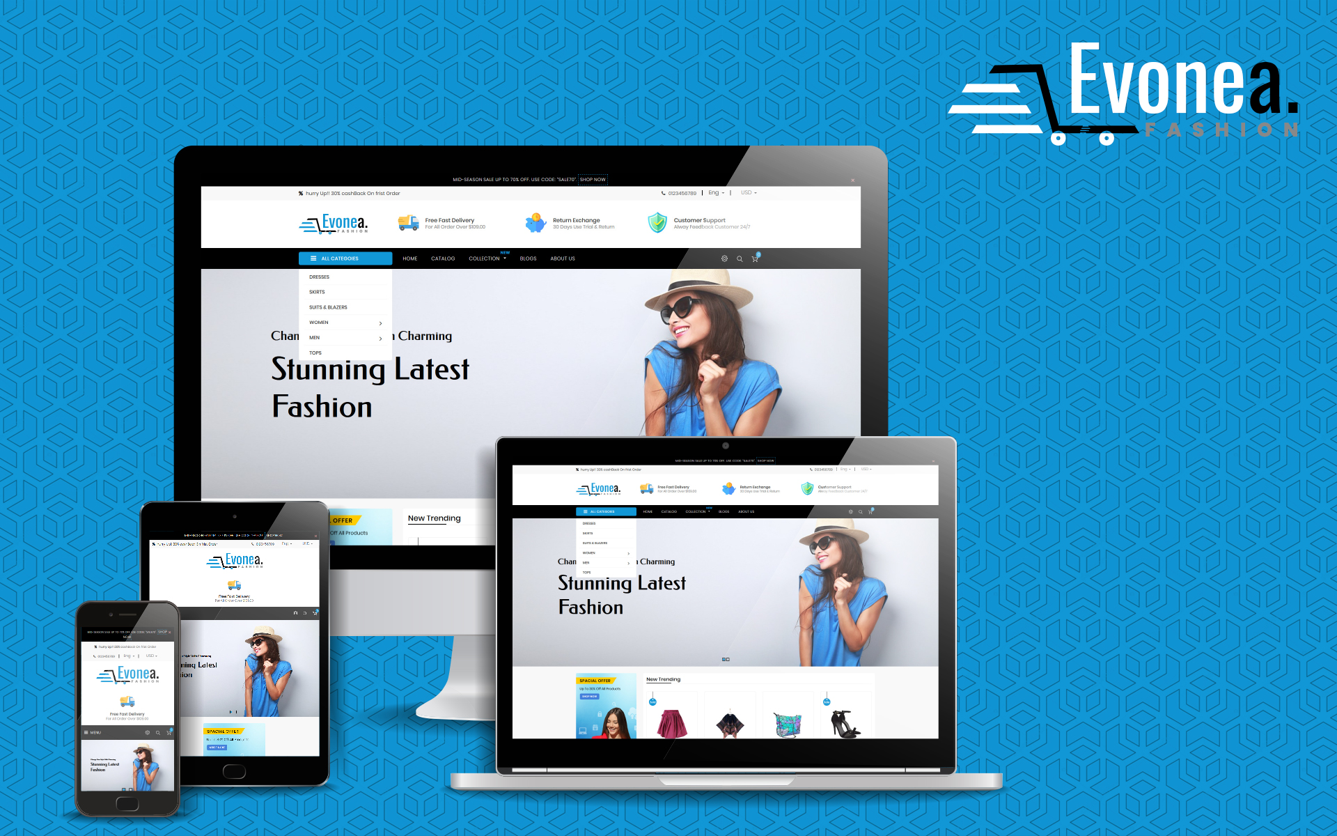 Evonea - Multipurpose Shopify Theme