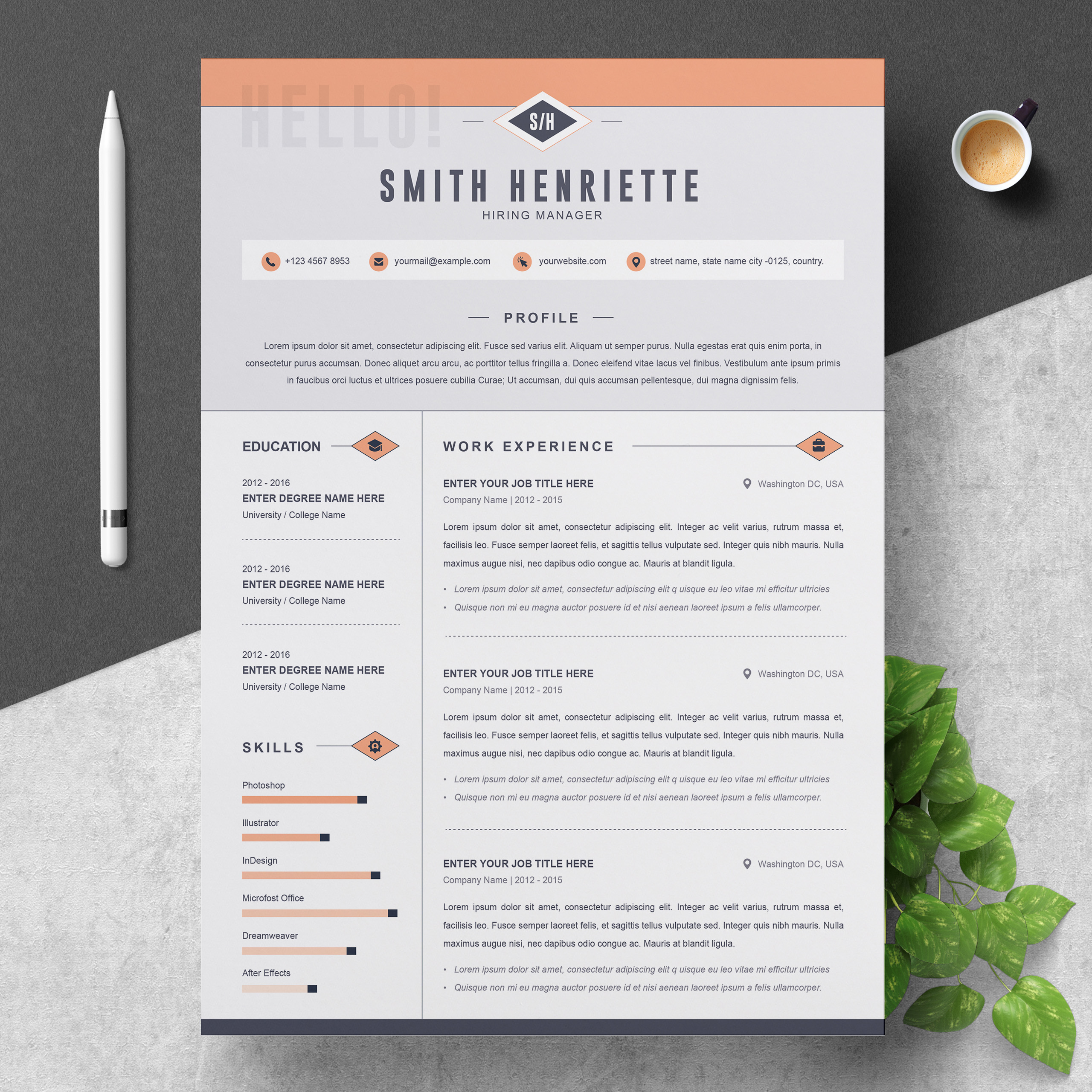 smith resume template