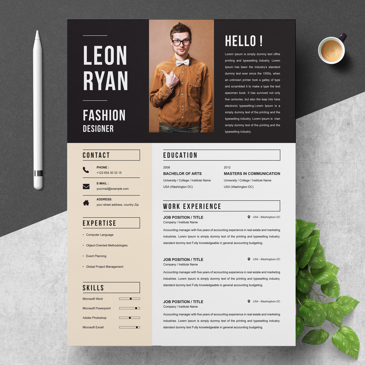 creative resume templates for designers  u2013 free  u0026 premim cv