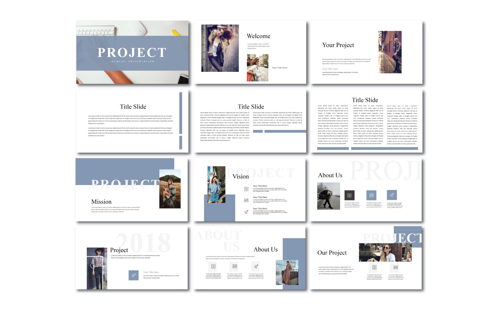 Project Keynote Template