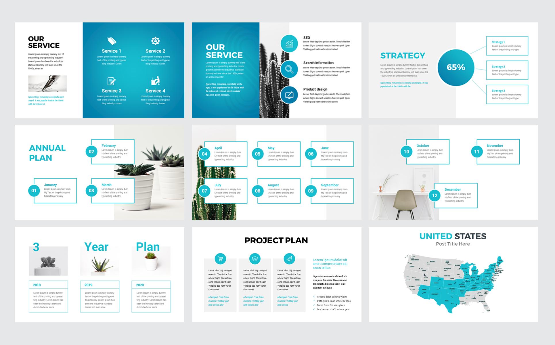 Infinity - Modern PowerPoint Template