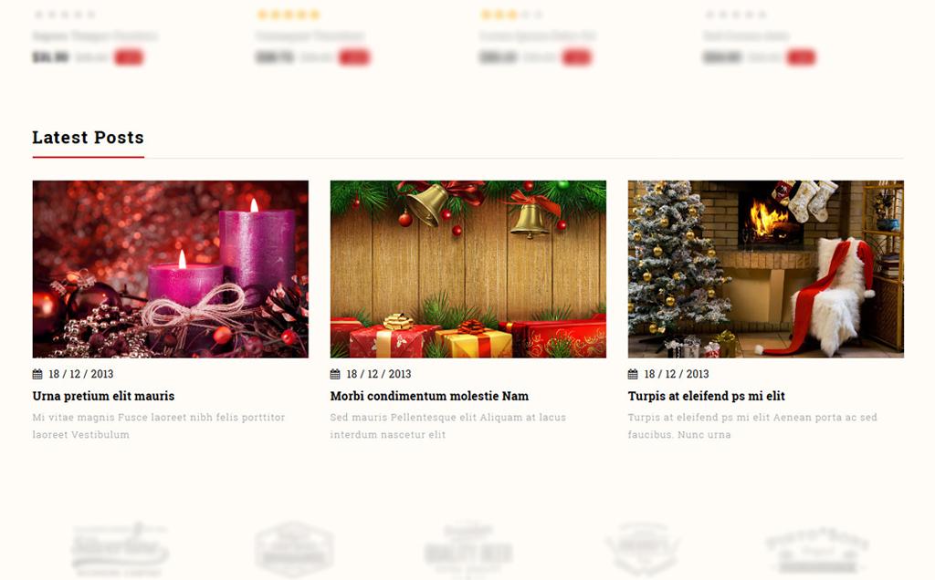 Jingle Gift Store PrestaShop Theme