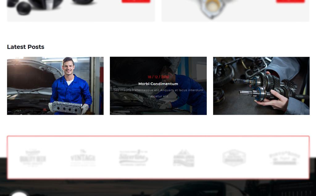 Vroom -Auto Parts Store PrestaShop Theme