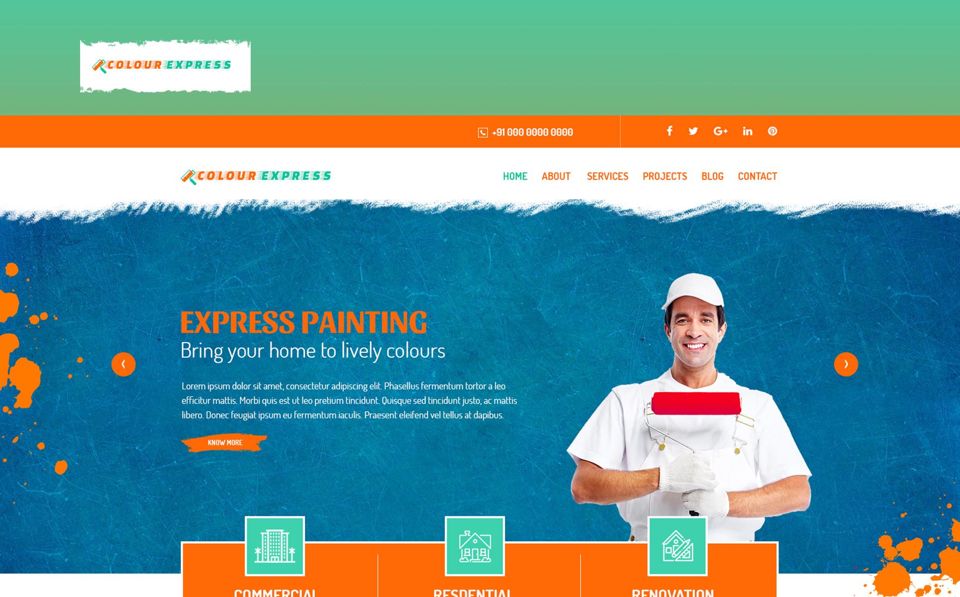 ColourExpress PSD Template