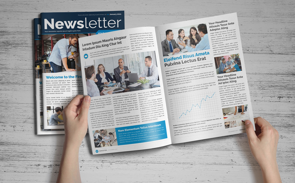 Newsletter Design v1 Corporate Identity
