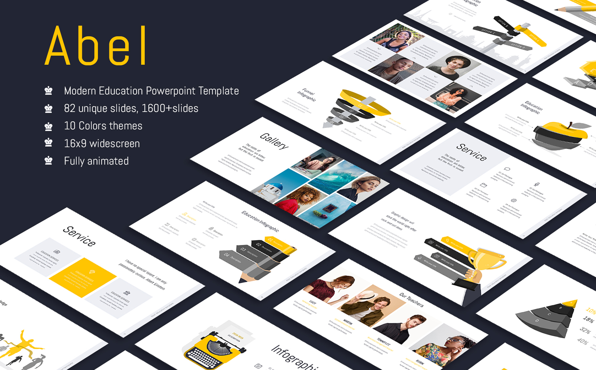 Abel-Education & Multipurpose Keynote Template