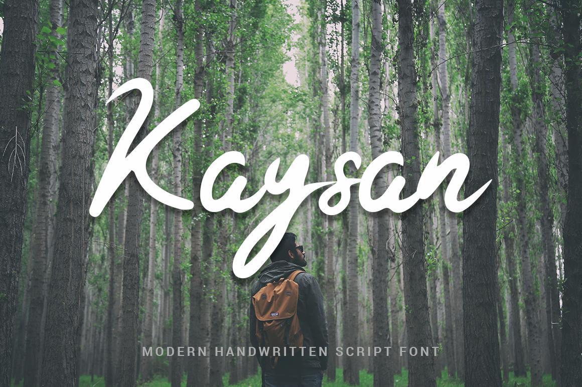 Kaysan Signature Fonts