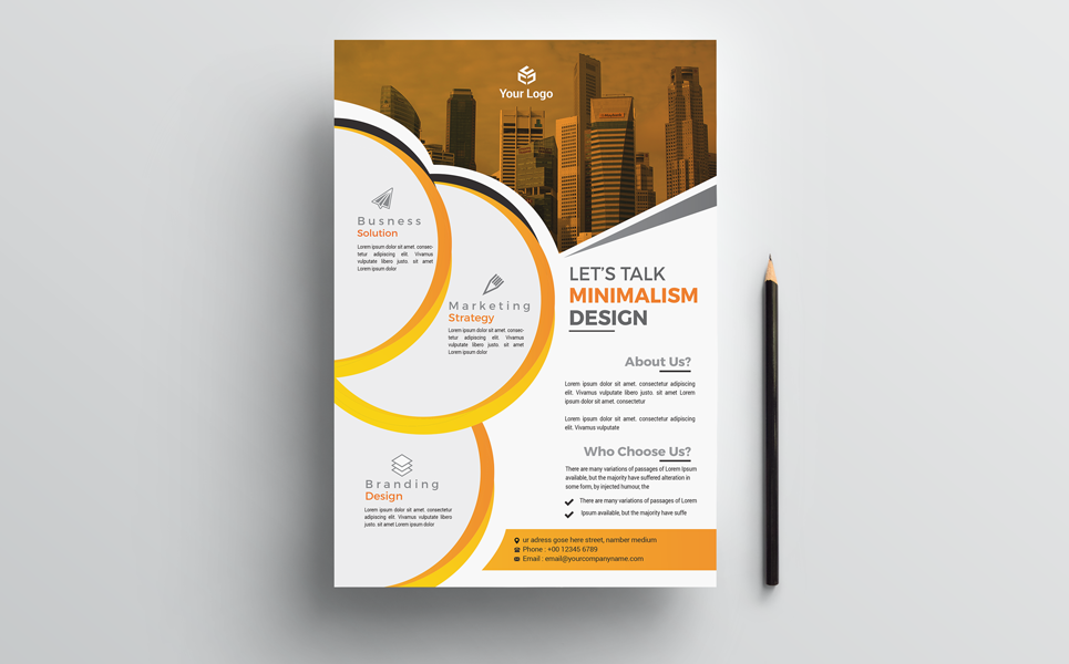 For Your Business Flyer Corporate Identity