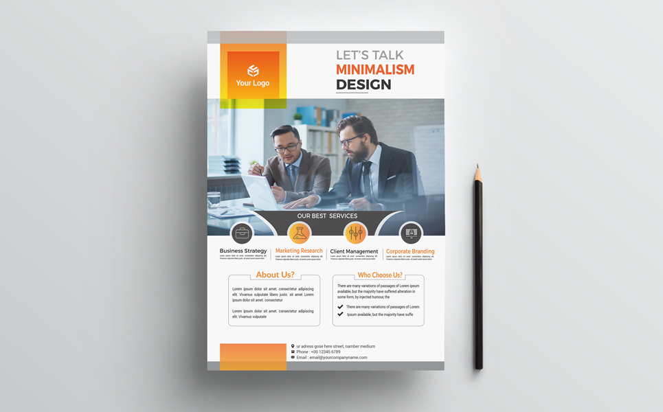 Perfect Creative & Clean Flyers Corporate Identity