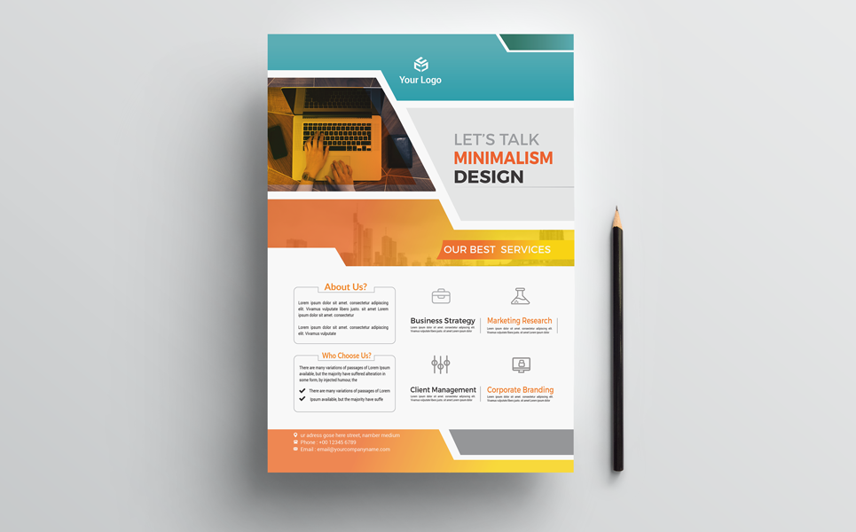 Creative & Modern Flyer Corporate Identity