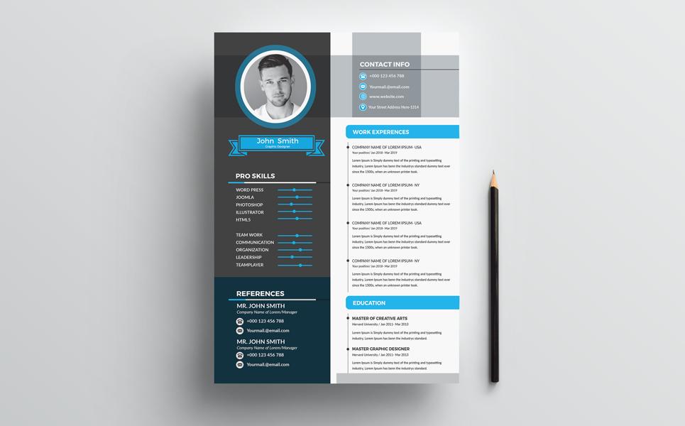 John Smith CV - Resume Template