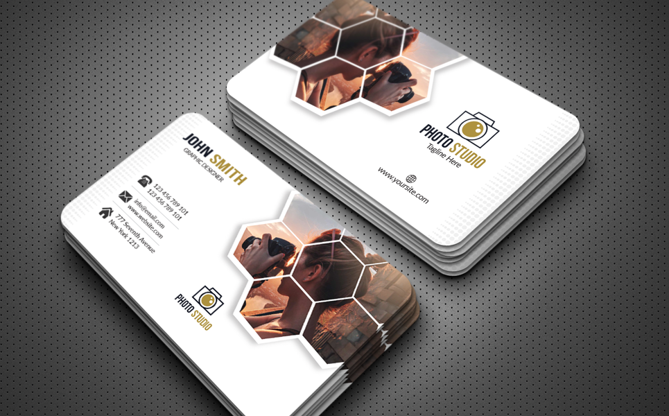 Photography Business Card Corporate Identity