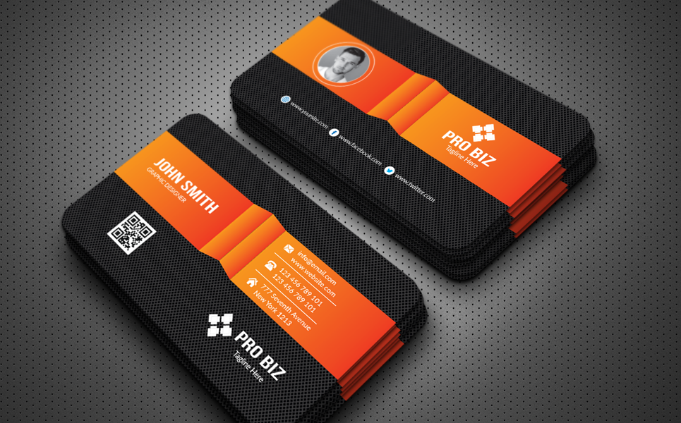 Personal Business Card Corporate Identity
