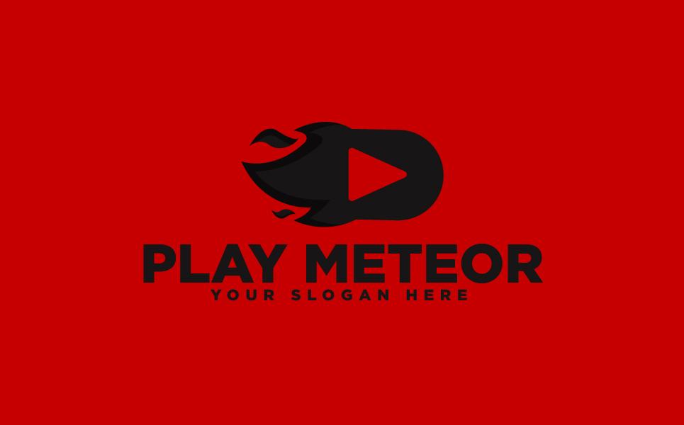 Meteor Play Logo Template