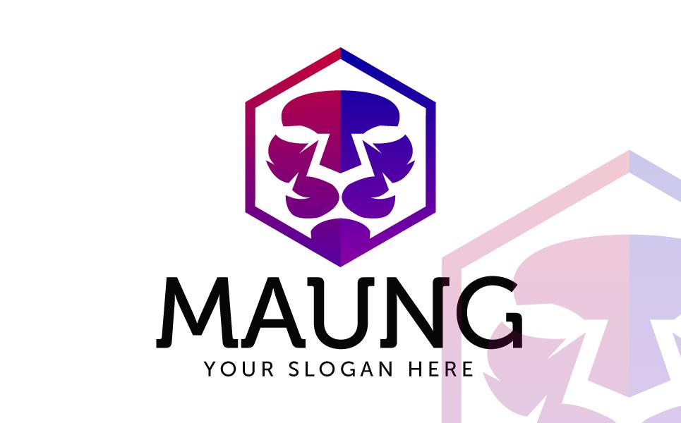 Maung Logo Template
