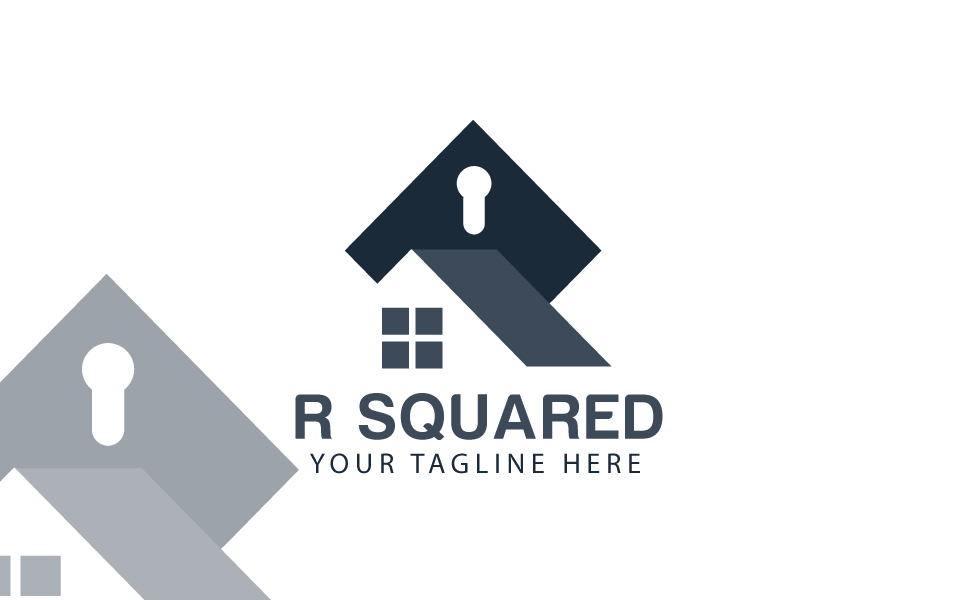 R square Logo Template