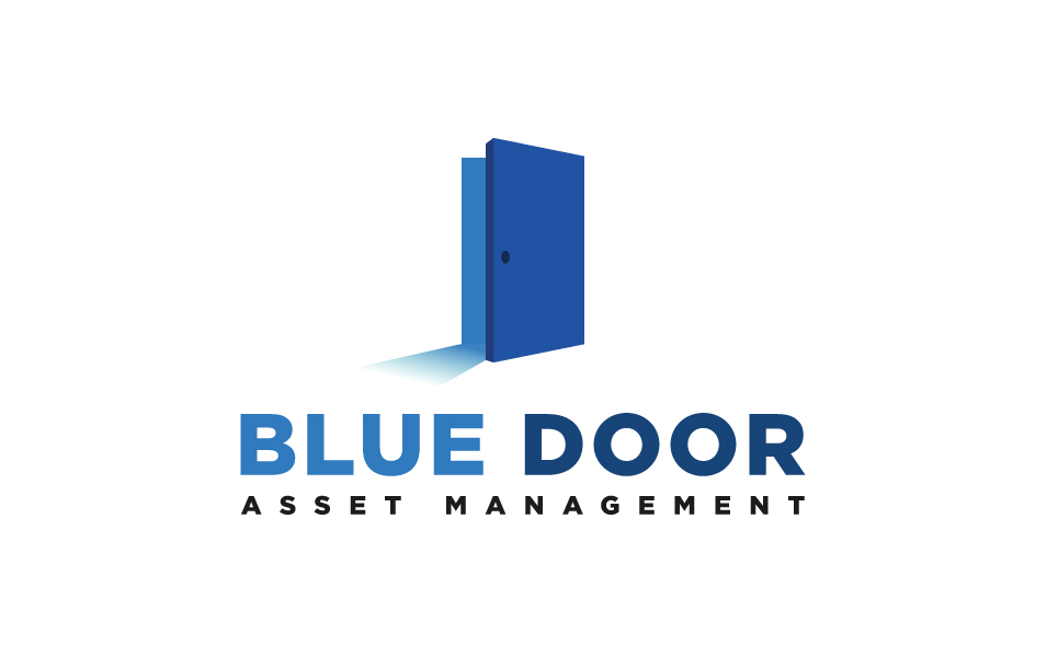 Blue Door Logo Template