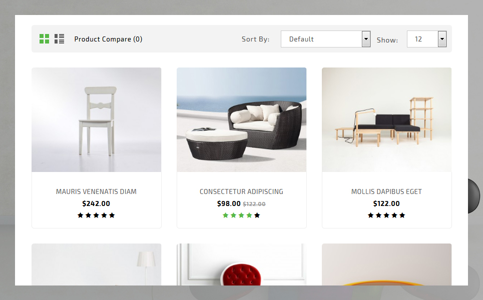 Homestyle OpenCart Template