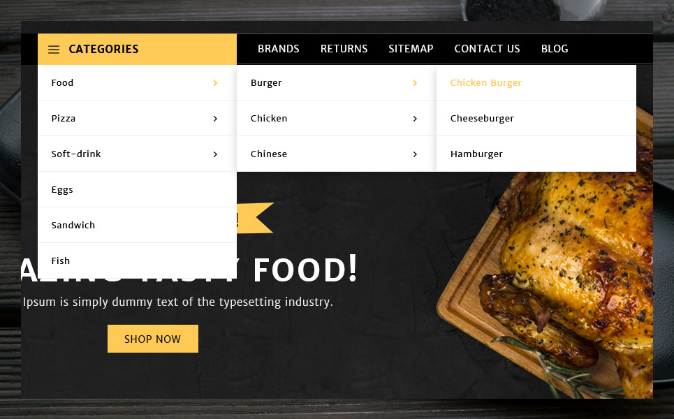 SpiceUp OpenCart Template