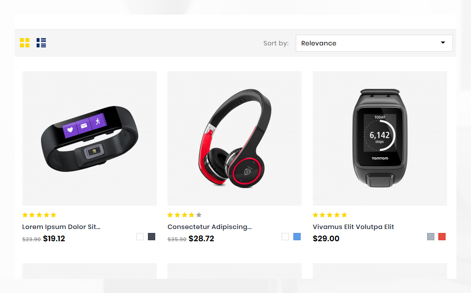 Tronex Electronics Shop PrestaShop Theme