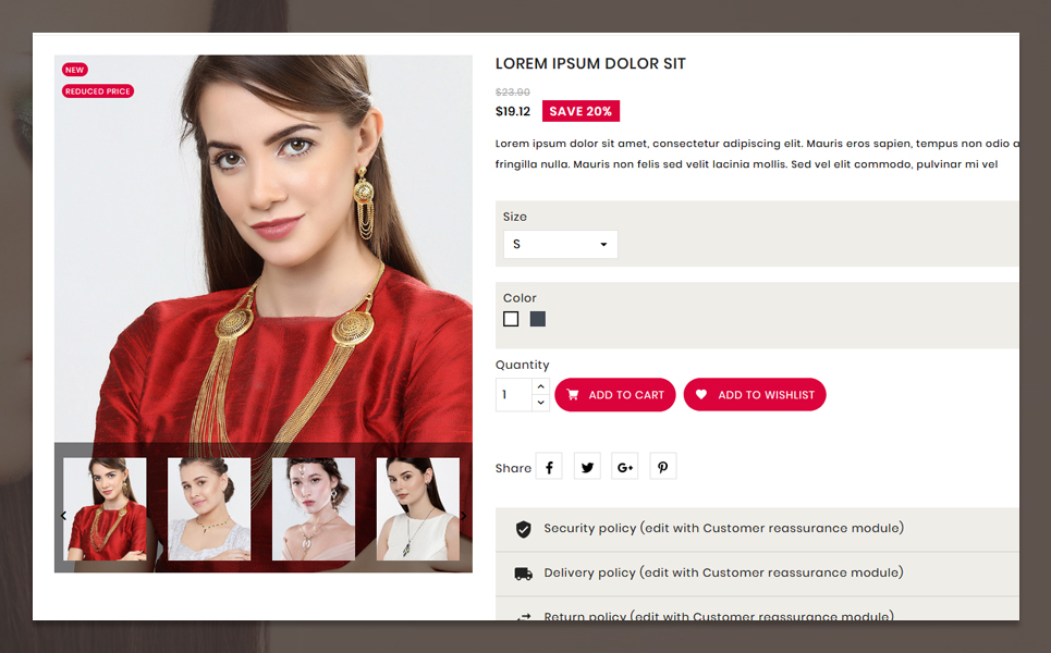 Crown PrestaShop Theme