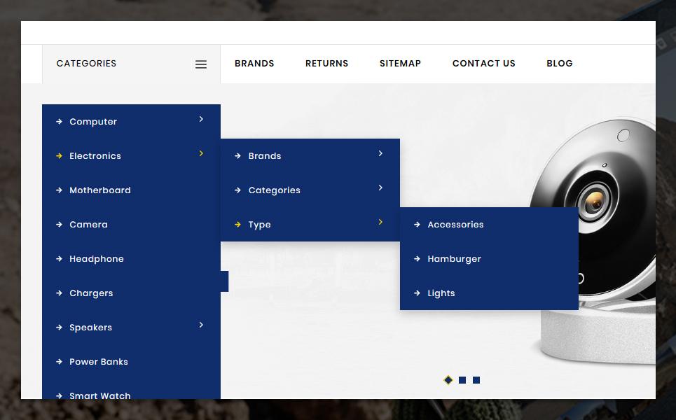 Tronex OpenCart Template