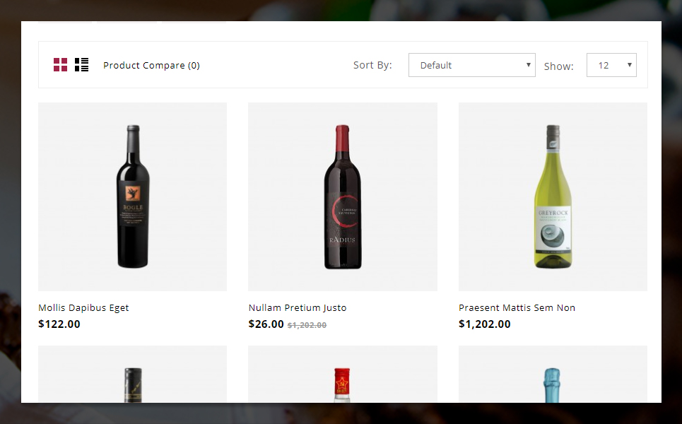 Star Wine Store OpenCart Template
